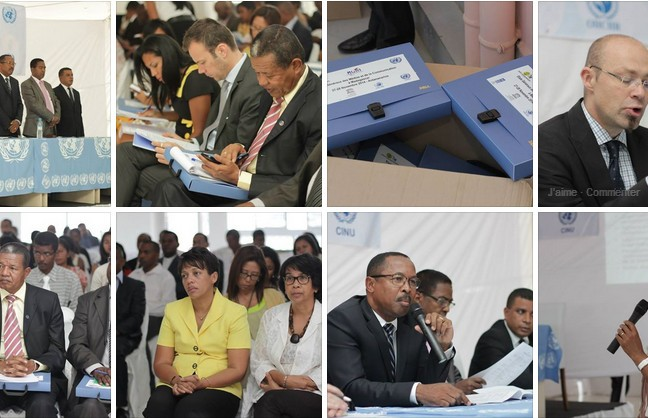 Les échos des Etats Généraux de la Communication. Crédit: Facebook UNDP Madagascar