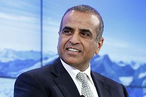 Sunil Bharti Mittal, PDG du groupe Bharti Airtel Ltd