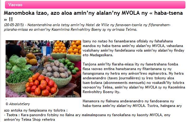 Article_MVola_Mahajanga