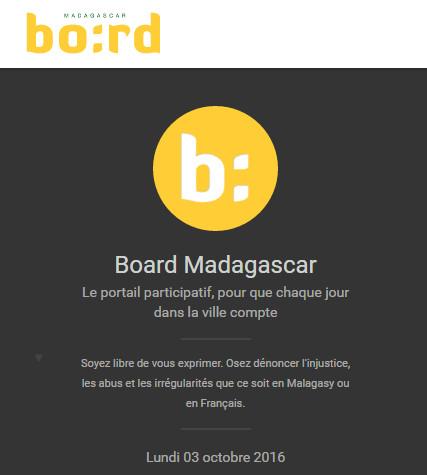 Board.mg by Niouz Madagascar