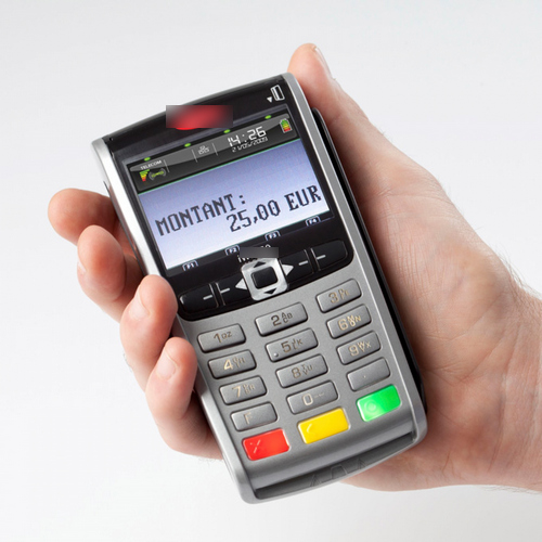 Terminal mobile de carte bancaire