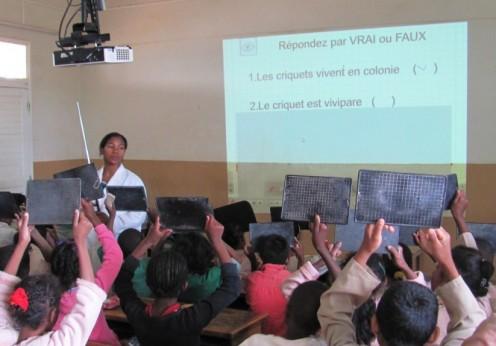 Education Numérique. Crédit photo: education.gov.mg